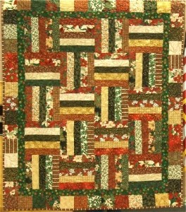 Christmas Charm Quilt