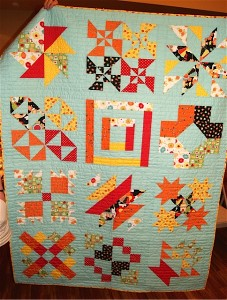 Wishes Block of the Month from Fat Quarters