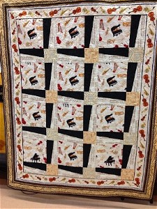 Piano quilt