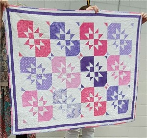 Pink and Purple Quilt