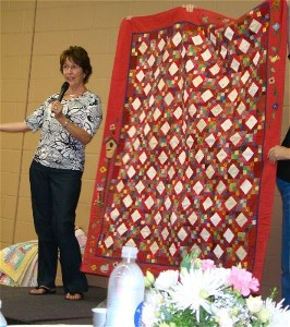 President's Quilt for Linda Wright
