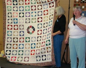President's Quilt for Betty Hall